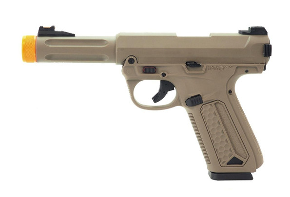 ASG Action Army AAP-01 Gas Blowback Airsoft Pistol, Tan