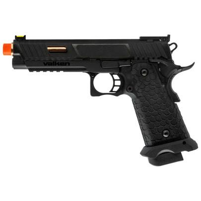 Valken BY Hi-Capa CO2 Blowback Pistol, Black