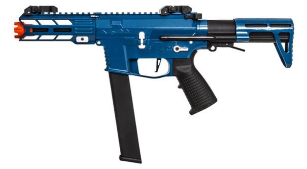 Classic Army Nemesis X9 PDW SMG AEG, Blue/Silver