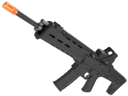 AandK Adaptive Combat AEG Airsoft Rifle, Black/Carbine