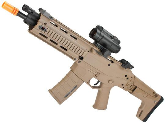 AandK Adaptive Combat CQB AEG Airsoft Rifle, Dark Earth