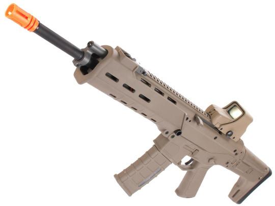 AandK Adaptive Combat AEG Airsoft Rifle, Dark Earth/Carbine