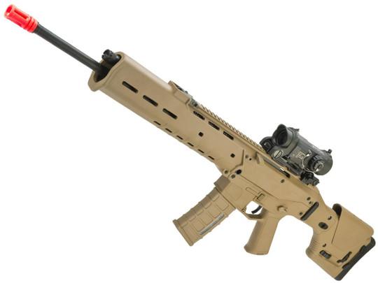 AandK Adaptive Combat AEG Airsoft Rifle, Dark Earth/DMR