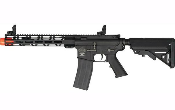 Valken Alloy MK II Full Metal AEG Airsoft Rifle, Black