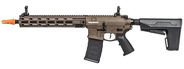 Classic Army Nemesis LS12 M4 Carbine AEG Airsoft Rifle w/ BAS Stock, Bronze