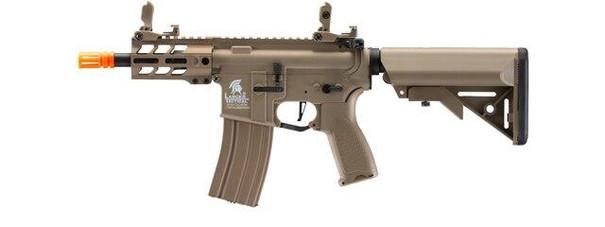 Lancer Tactical Enforcer Hybrid Gen 2 Battle Hawk 4 PDW AEG Airsoft Rifle, Tan
