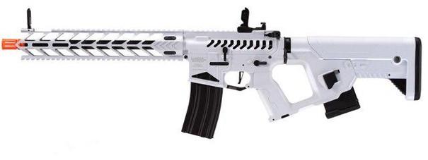 Lancer Tactical Enforcer Night Wing Skeleton AEG Airsoft Rifle w/ Alpha Stock, White