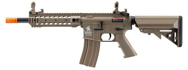 Lancer Tactical LT-24T Gen 2 CQB M4 AEG Airsoft Rifle, Tan