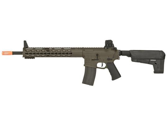 Krytac Full Metal Trident MKII SPR / PDW Upper AEG Airsoft Rifle, Dark Earth