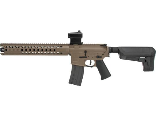 Krytac War Sport Licensed LVOA-S M4 Carbine AEG Airsoft Rifle, Dark Earth