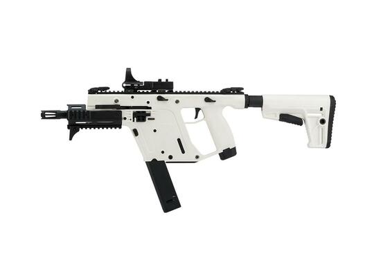 KRISS USA Limited Edition High Velocity KRISS Vector SMG Airsoft Rifle by Krytac, Alpine White