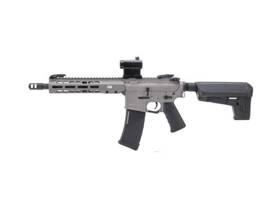 EMG Krytac Barrett Firearms REC7 DI AR15 SBR AEG Training Airsoft Rifle, Tungsten
