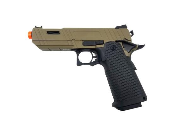 JAG Arms GMX-3.0 Series Gas Blowback Airsoft Pistol, Tan