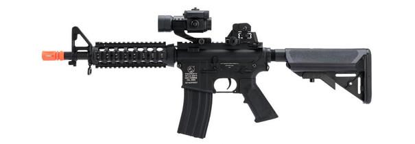Colt M4 CQB Full Metal RIS AEG Low FPS Airsoft Rifle, Black