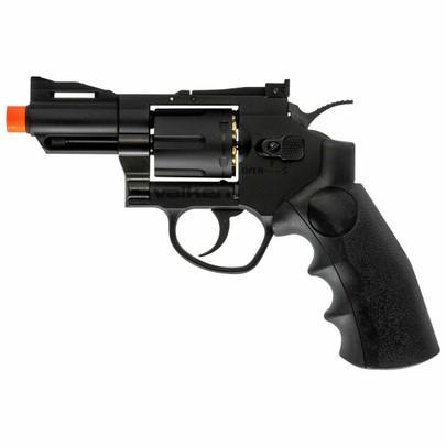 Valken 2.5 CO2 Powered Airsoft Revolver, Black