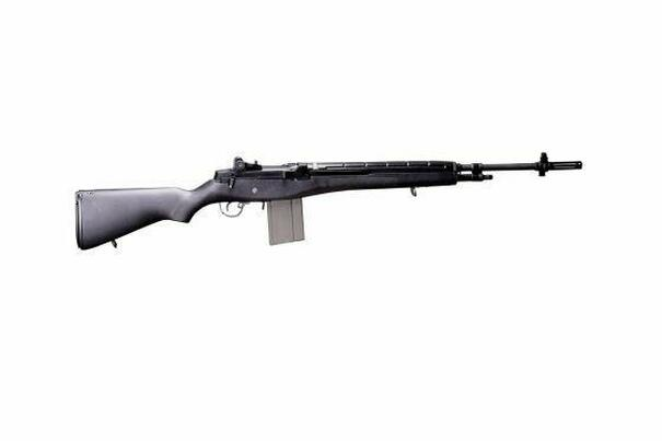 GandG GR14 ETU AEG Airsoft Rifle, Black