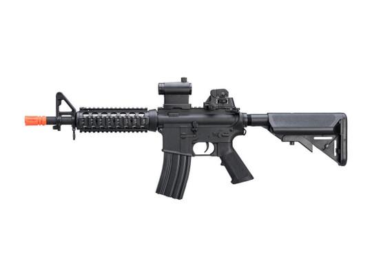 Cybergun Colt Licensed M4 CQB RIS AEG Airsoft Rifle, Black