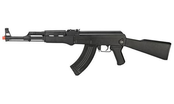 CYMA AK47 Full Size LPAEG Airsoft Rifle, Black
