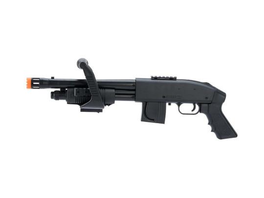 Mossberg Licensed M590 Chainsaw Airsoft Shotgun by Cybergun, Black