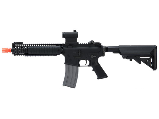 Cybergun Colt Licensed MK18 MOD1 Full Metal AEG Airsoft Rifle by VFC, Black