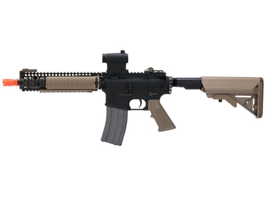 Cybergun Colt Licensed MK18 MOD1 Full Metal AEG Airsoft Rifle by VFC, Dark Earth