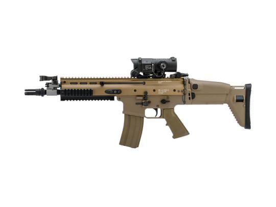 Tokyo Marui Next Generation Recoil Shock System FNH Licensed SCAR-L/MK16 AEG Airsoft Rifle, Flat Dark Earth