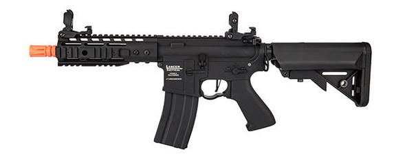 Lancer Tactical Proline 7 Keymod Rail w/ Picatinny M4 Carbine AEG Airsoft Rifle, Black
