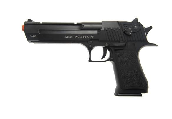 KWC Magnum Research Desert Eagle .50AE Full Auto Co2 Airsoft Pistol, Black