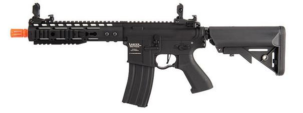 Lancer Tactical Proline 9 Keymod Rail w/ Picatinny M4 Carbine AEG Airsoft Rifle, Black