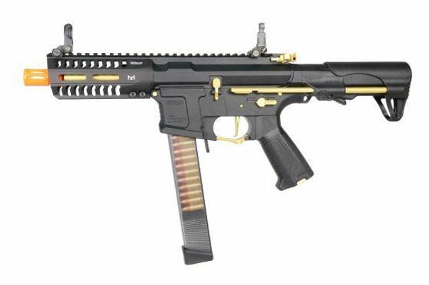 GandG ARP 9 AEG Airsoft Rifle, Stealth Gold
