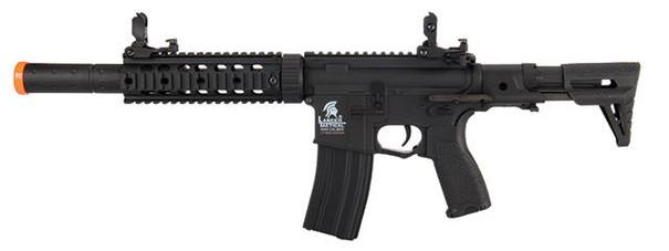 Lancer Tactical Gen 2 M4 Carbine w/ PDW Stock AEG Airsoft Rifle, Black