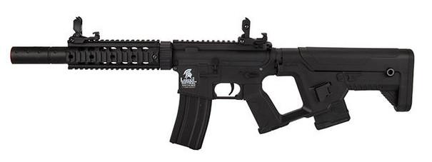 Lancer Tactical Gen 2 AEG Airsoft Rifle w/ Alpha Stock, Black