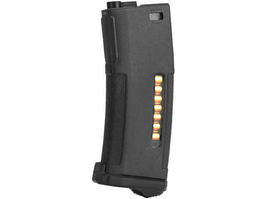 PTS Enhanced Polymer 150rd Mid-Cap Magazine for M4 Series Airsoft AEG Rifles, Black