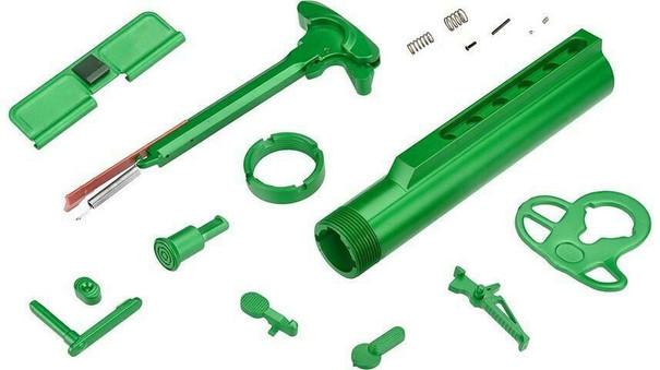 Lancer Tactical ProLine Series External Part Set, Green