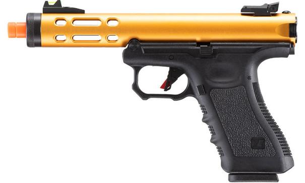 WE-Tech Galaxy G-Series Gas Blowback Airsoft Pistol, Gold