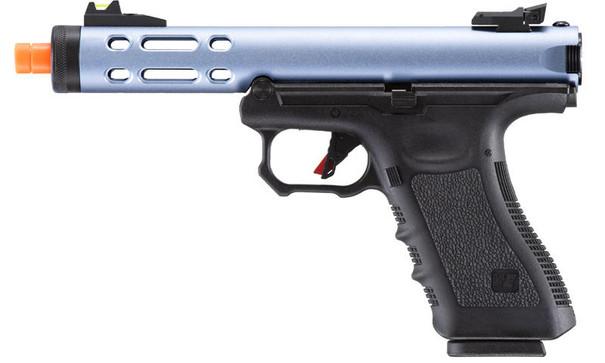 WE-Tech Galaxy G-Series Gas Blowback Airsoft Pistol, Blue