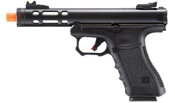 WE-Tech Galaxy G-Series Gas Blowback Airsoft Pistol, Black