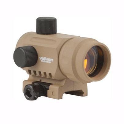 Valken RDA20 Mini Red Dot Sight, Tan