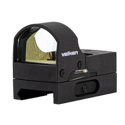 Valken Mini Reflex Red Dot Sight Molded w/ QD Mount, Black