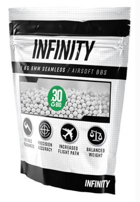 Valken Infinity 6mm Bio Airsoft BBs, 0.30g, 3300 rounds