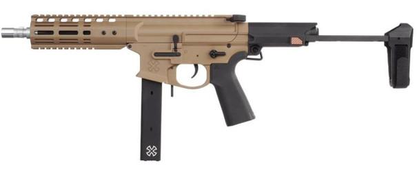 EMG Noveske 8.5 Gen4 Space Invader AR Airsoft Pistol, Flat Dark Earth