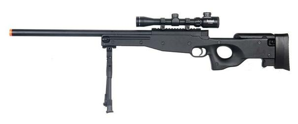 Double Eagle M59P Airsoft Sniper Rifle w/ Scope and Bipod