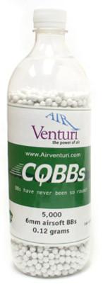 5000 Air Venturi CQBBs 6mm biodegradable .12g BBs