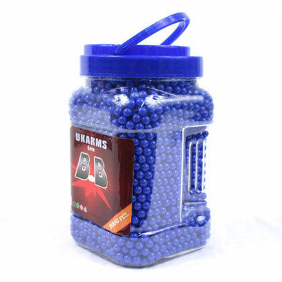 5000 6mm 0.12g Airsoft BBs In Bottle