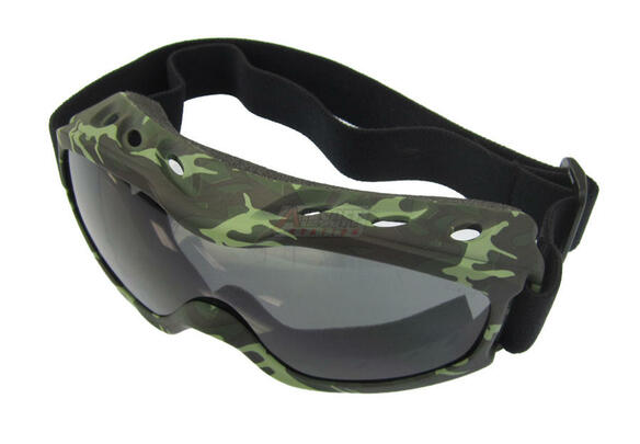 Evader II FogStopper Goggles - Camo Frame / Clear Lenses