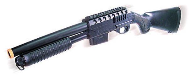 Everblast M87LA Full Stock Airsoft Shotgun by UTG