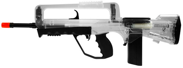 Famas Foreign Legion Spring Airsoft Rifle, Clear by Cybergun