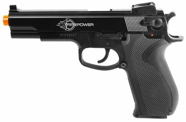 Firepower .45 Spring Airsoft Pistol, Metal Slide