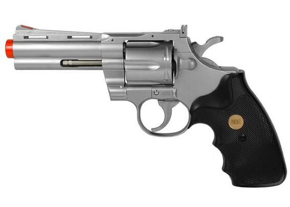 UHC Airsoft Revolver 4 Barrel - Silver