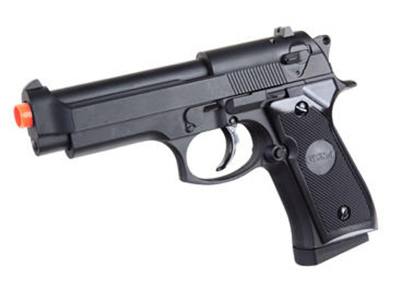 Full Metal M9 Style Spring Airsoft Pistol by CYMA P818
